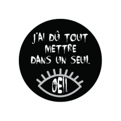 badge Oeil