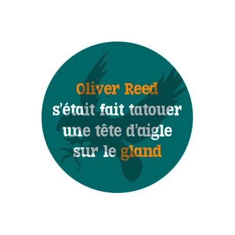 badge Oliver Reed