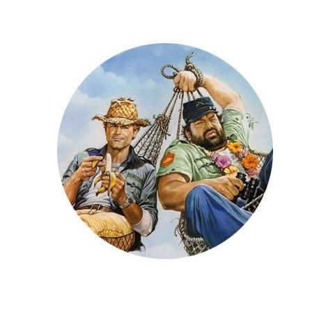 badge Bud & Terence