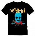 T-shirt Disto Shock bleu