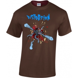 T-shirt Distorsion Ventre