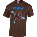 T-shirt Distorsion Ventre