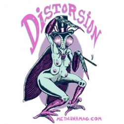 T-shirt Distorsion Mante