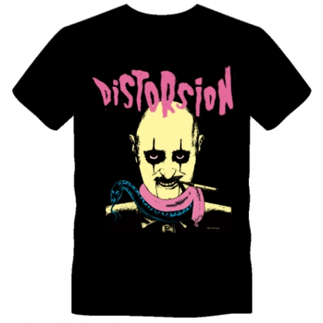 T-shirt Disto Shock jaune