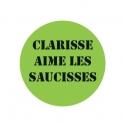 badge Clarisse