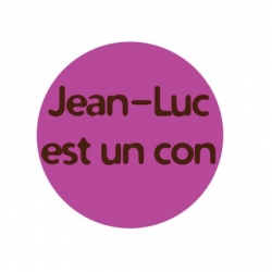 badge Jean-Luc