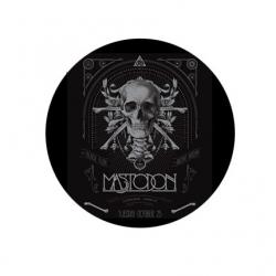 badge Mastodon crâne